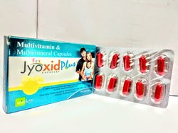 Jyoxid Plus Multivitamin & Multimineral Capsules, Packaging Type: Box, Prescription