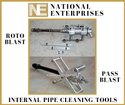Internal Pipe Cleaning Tool