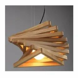 Wooden Hanging Chandelier
