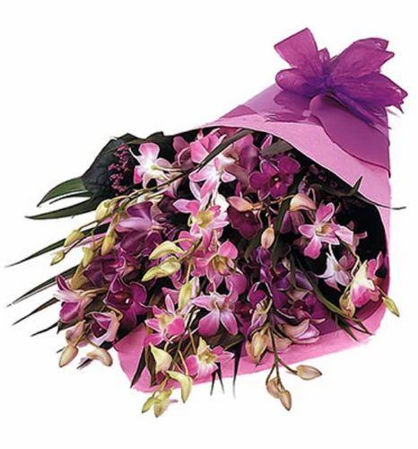 Purple Exotic Orchids Flower At Rs 849 Bunch Laxmi Nagar Delhi