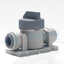 Shut Off Valve With Mounting Clip