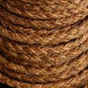 Waxed Braided Leather Cord