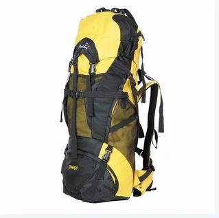 Tornado Yellow Trekking Bag, Mountaineering Backpack, Rucksack Trekking Bag,  Hiking Trekking Bags, ट्रैकिंग बैग in 6th Block Rajajinagar, Bengaluru ,  Fantasy Bags | ID: 19098759555
