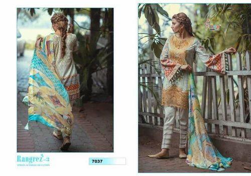 67870fd57e Unstitched Pakistani Salwar Kameez, Rs 799 /piece, Hiral Textile ...