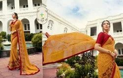 Heavy Gorgette Indian Wear Saree