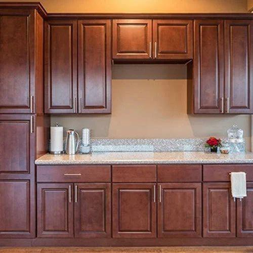 Modular Kitchen Wooden Cabinets