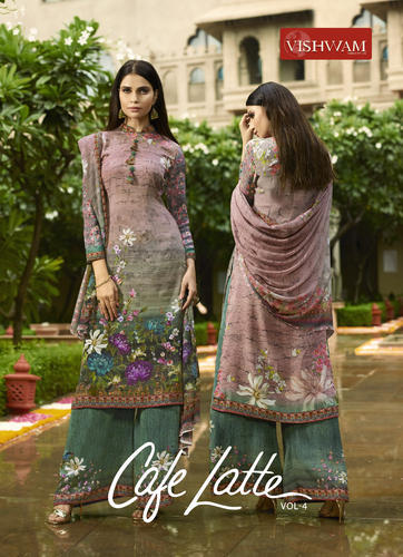 fde40e4c223 Digital printed italian crepe dress materials at Rs 1100  pcs ...