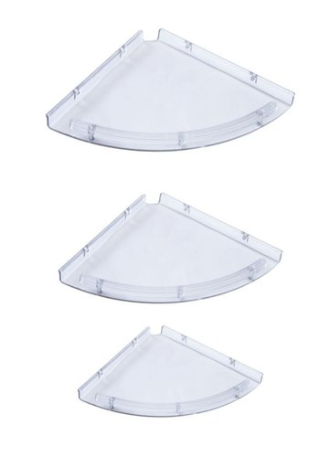 KINDEL White CORNER SET, for Bathroom, Size: 5x12
