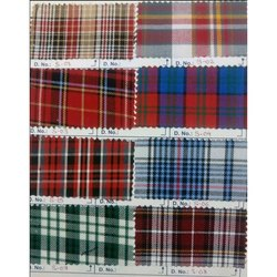Suiting Checks Uniform for Shirting Fabric