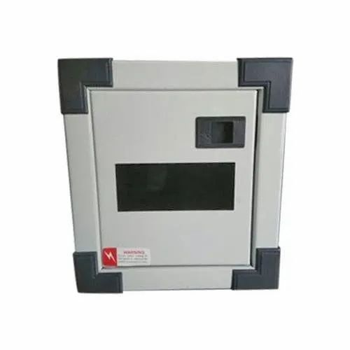 Single Door Mild Steel (ms) 6 Way MCB Box, for Electric Fittings