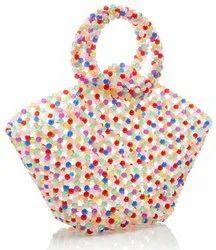 Multicolour beaded Bag