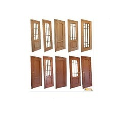 Own Solid Wood Stylish Wooden Doors, For Hotel & Home