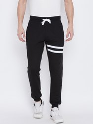 Men Black Cotton Joggers