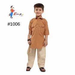 Kids Cotton Kurta Pajama
