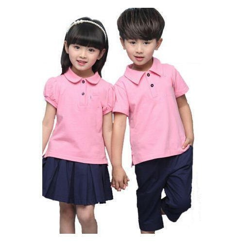 Kids Children/'s Polycotton Polo Shirts Casual School Uniforms School Wear Shirts