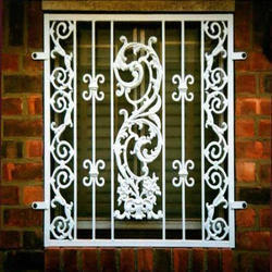 Cast Iron Railing Grills
