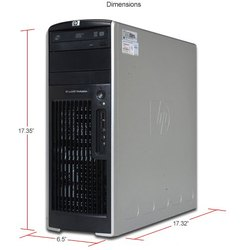 HP Workstation Xeon 8Core E5410 2.33GHz, 16GB RAM, 500GB, 4 HDMI Out