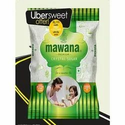 White Refined Mawana Premium Crystal Sugar, Speciality: Organic, Packaging Size: 1 Kg