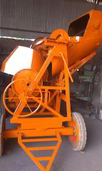 Mechanical Concrete Mixer Machine