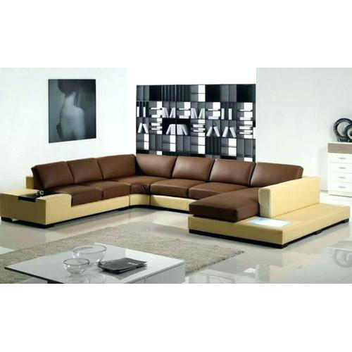 7 Seater Living Room L Shape Sofa Set