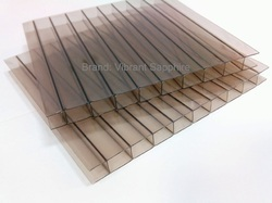 8mm Twinwall Polycarbonate Sheet, Size (feet): 4, 7 X 39