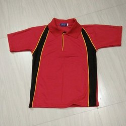Red And Black School T-Shirt