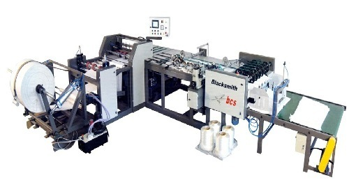 Woven Bag Cutting Stitching Machine Production Capacity 4040 Bag Awesome Automatic Cutting And Sewing Machine Price