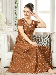 Anarkali Fashion Mart Nighty Kurtis Style, Size: XL