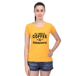 Half Sleeve Cotton All- I Need - Women T-Shirts