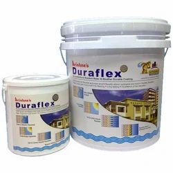Soft Sheen Water Based Paint Duraflex Elastomeric Waterproof Coating, For Exterior