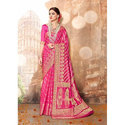 Body Designed Party Wear Ladies Banarasi Sarees