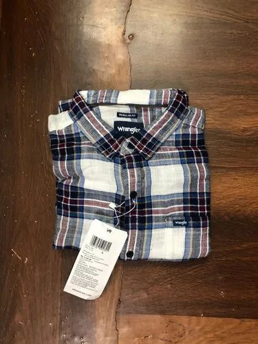 Slim Fit Cotton Men Surplus Shirts