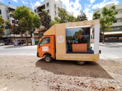 Banner Mobile Van Branding Services, Transit Media