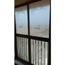 Transparent Decorative Window Glass, Thickness: 3.5-12 Mm