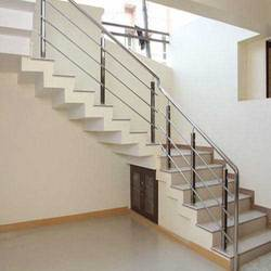Modular Steel Staircase Railings
