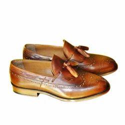 Brown CHAIN FOOTWEAR Ladies Loafer