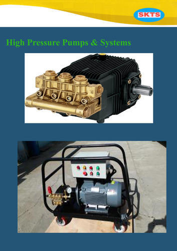 Automatic High Pressure Pump, Electric
