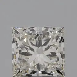 Princess 1.63ct IGI Certified Diamond CVD J VS2 Lab Grown