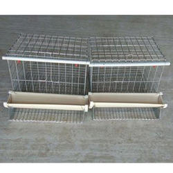Welded Wire Mesh Poultry Cages at Rs 84 /kilogram