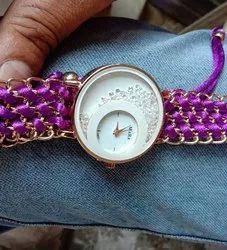 Maxray Purple Ladies Wrist Watches