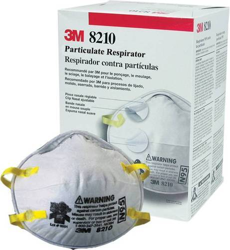 Reusable 3M N95 Respirator Mask, Number of Layers: 4