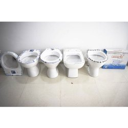 White Ceramic Commode