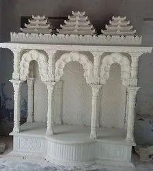 4 Pillar Marble Temple