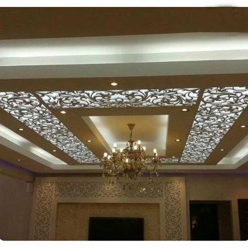 Asbestos Cement, FRP Decorative False Ceiling, Rs 110 ...