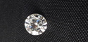 Round Moissanite Solitaire G-H Color