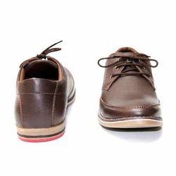 Ambur Glow Leather Brown Mens Casual