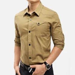 Mens Cargo Shirt