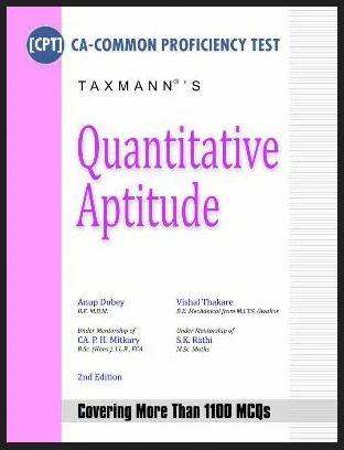 Cpt Quantitative Aptitude Book