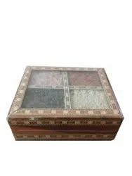 Pebble Decorative Wooden Handmade Box for Corporate Gifting