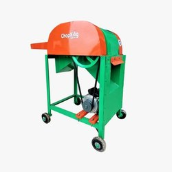 Rice Straw Cutter With Motor, 2hp Single Phase 1440rpm, Model Name/Number: Chopking Mini